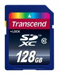 Transcend TS128GSDXC10 SDXC Card [128GB Class 10]