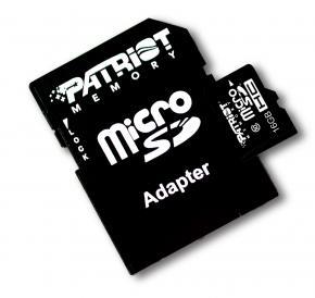 Patriot PSF16GMCSDHC10 LX SERIES MICRO SDHC [16GB MICRO SDHC CLASS 10]