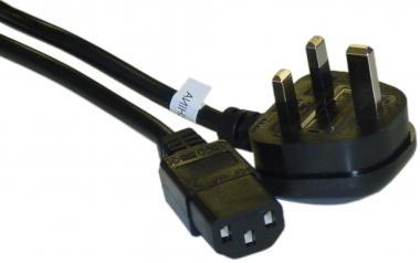230V AC/10A UK power cord UL/CSA 6ft (1.8m)