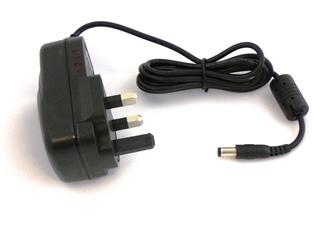 eBox power supply 15V DC-1.5A - 20Watt UK (for ebox with 15V-1pin)