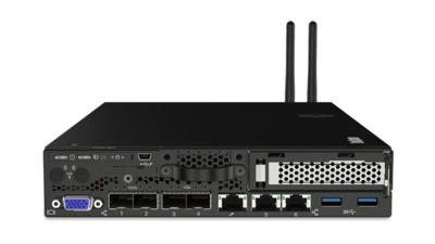 Lenovo ThinkSystem SE350 Edge Server D-2123IT (4C 2.2Ghz 8MB Cache), 16GB RAM, 1x 480Gb Industrial SSD, Redundant 240W Powersupply, 10Gb SFP+, XCC Enterprise, Desktopcase with Feet.