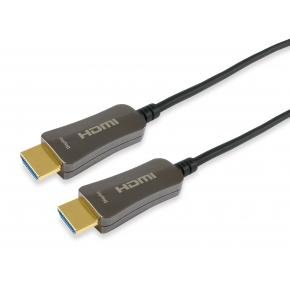 Equip 119430 HDMI 2.0 Active Optical Cable, [HDMI Type A -> HDMI Type A 3D, 18 Gbit/s, 30m, Black]