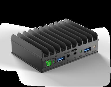 MintBox Mini 2 (4GB RAM, 60~64GB M.2. SSD, 2x LAN, Linux MINT)