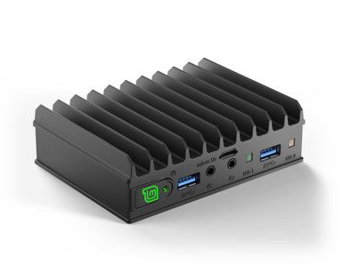 MintBox Mini 2 Pro (8GB RAM, 120~128GB M.2. SSD, 2x LAN, Linux MINT)