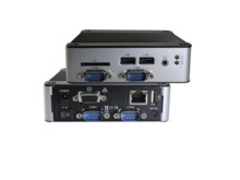 EBOX-3362-C4 - Dual Core 2GB RAM. SD, SATA, 4xUSB, VGA, Line-out, 4xFull RS232, 1xLAN