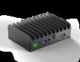 MintBox Mini 2 (4GB RAM, 60~64GB M.2. SSD, 2x LAN, WIFI/BT, Linux MINT)