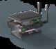 MintBox Mini 2 (4GB RAM, 60~64GB M.2. SSD, 2x LAN, WIFI/BT, Linux MINT)_